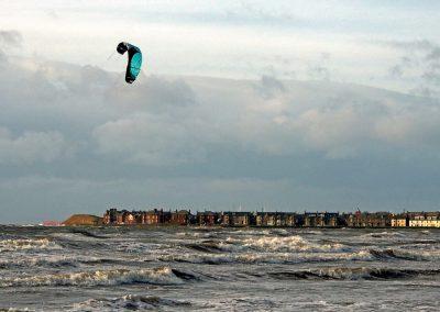 stormy seas Troon